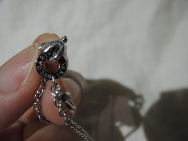 ブルガリ クロス ネックレス ホワイトゴールド ダイヤ_画像5