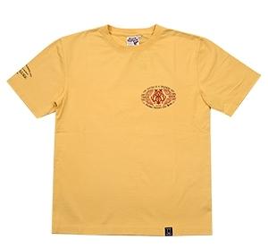 ブラッドメッセージ/Tシャツ/カスタード/M/blst-1090/エフ商会/テッドマン/カミナリモータース_画像2
