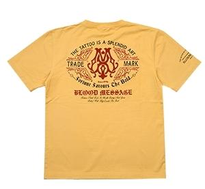 ブラッドメッセージ/Tシャツ/カスタード/XL/blst-1090/エフ商会/テッドマン/カミナリモータース_画像1