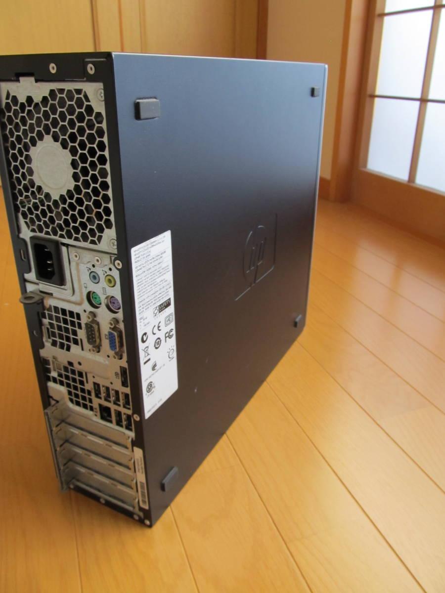 ■HP8100 Elie SFF Corei5 670 8G/2TB/DVDマルチ/win10 _画像4