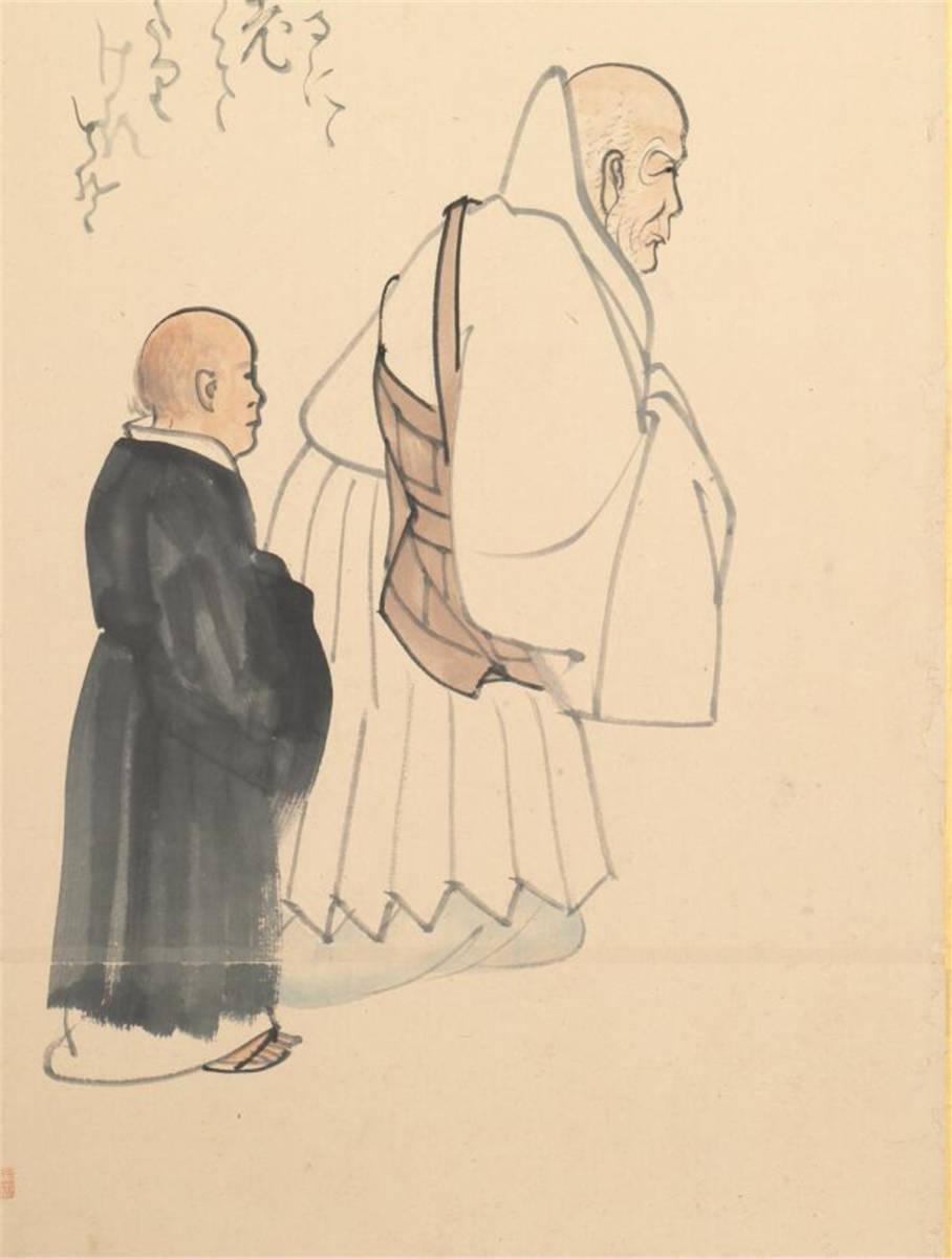 江戸後期の画家 絵画 閑散随筆146.5 *330.7cm_画像9