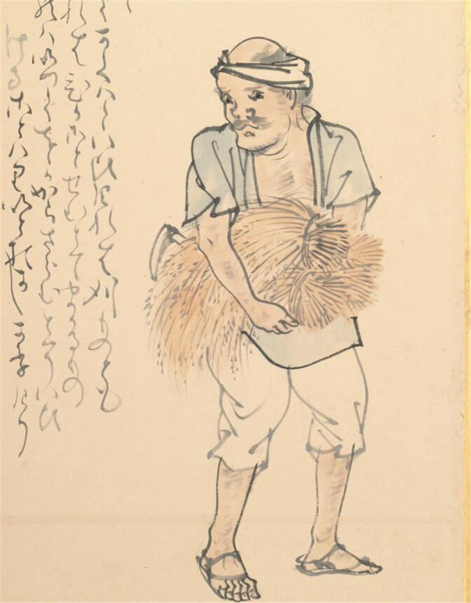 江戸後期の画家 絵画 閑散随筆146.5 *330.7cm_画像7