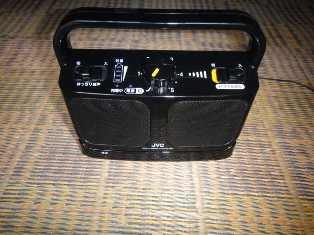 USED JVC テレビ用ワイヤレススピーカーみみ楽SP-A850