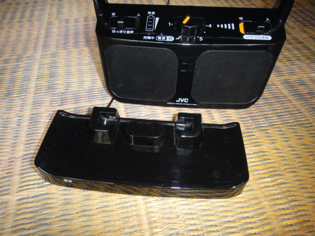 USED JVC テレビ用ワイヤレススピーカーみみ楽SP-A850_画像2