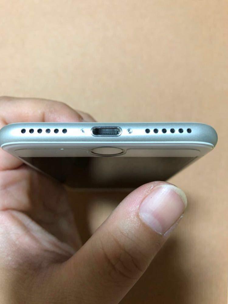 【1円スタート】美品 iPhone7 32GB 本体 シルバー SIMロック解除済み SIMフリー_画像5