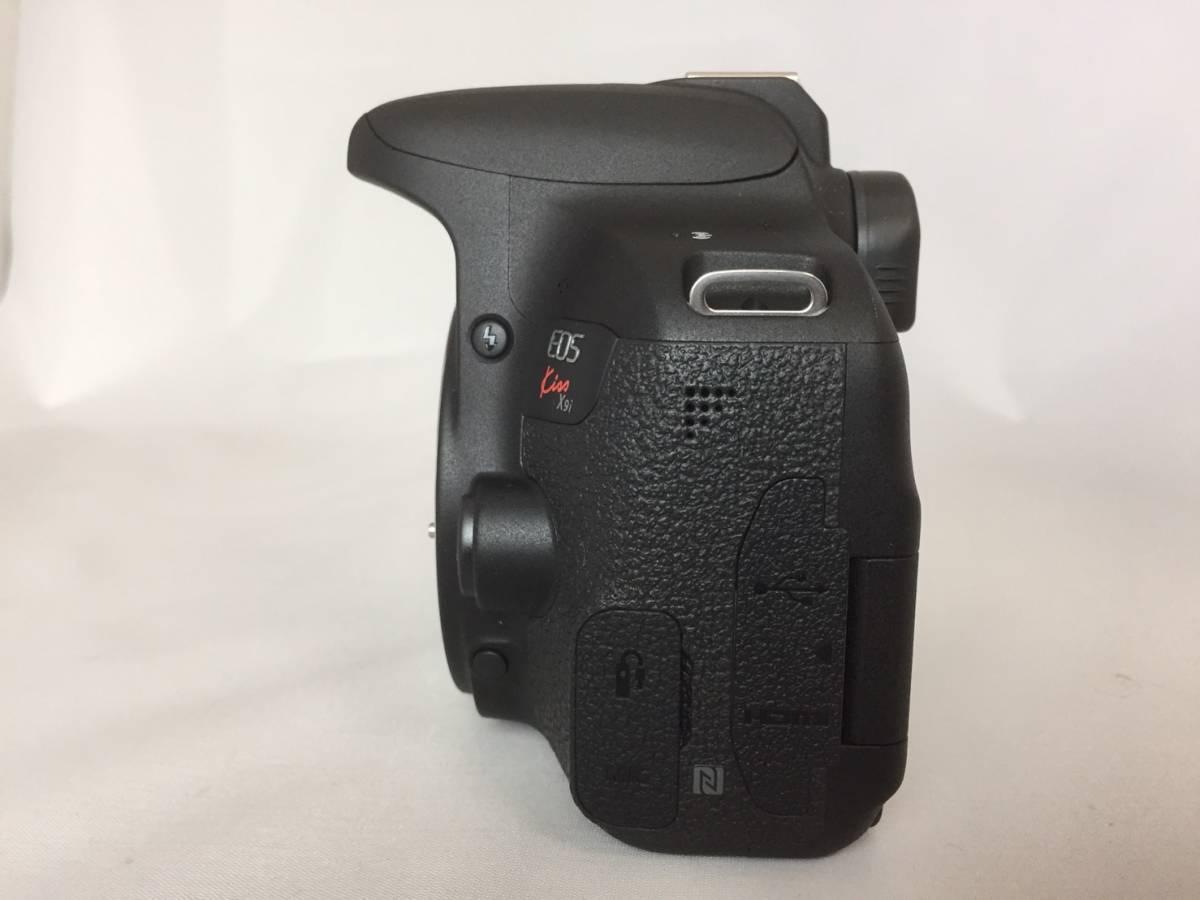 【新品級ボディ】Canon キャノン EOS Kiss X9i 単焦点 標準 望遠 トリプルレンズセット_画像7