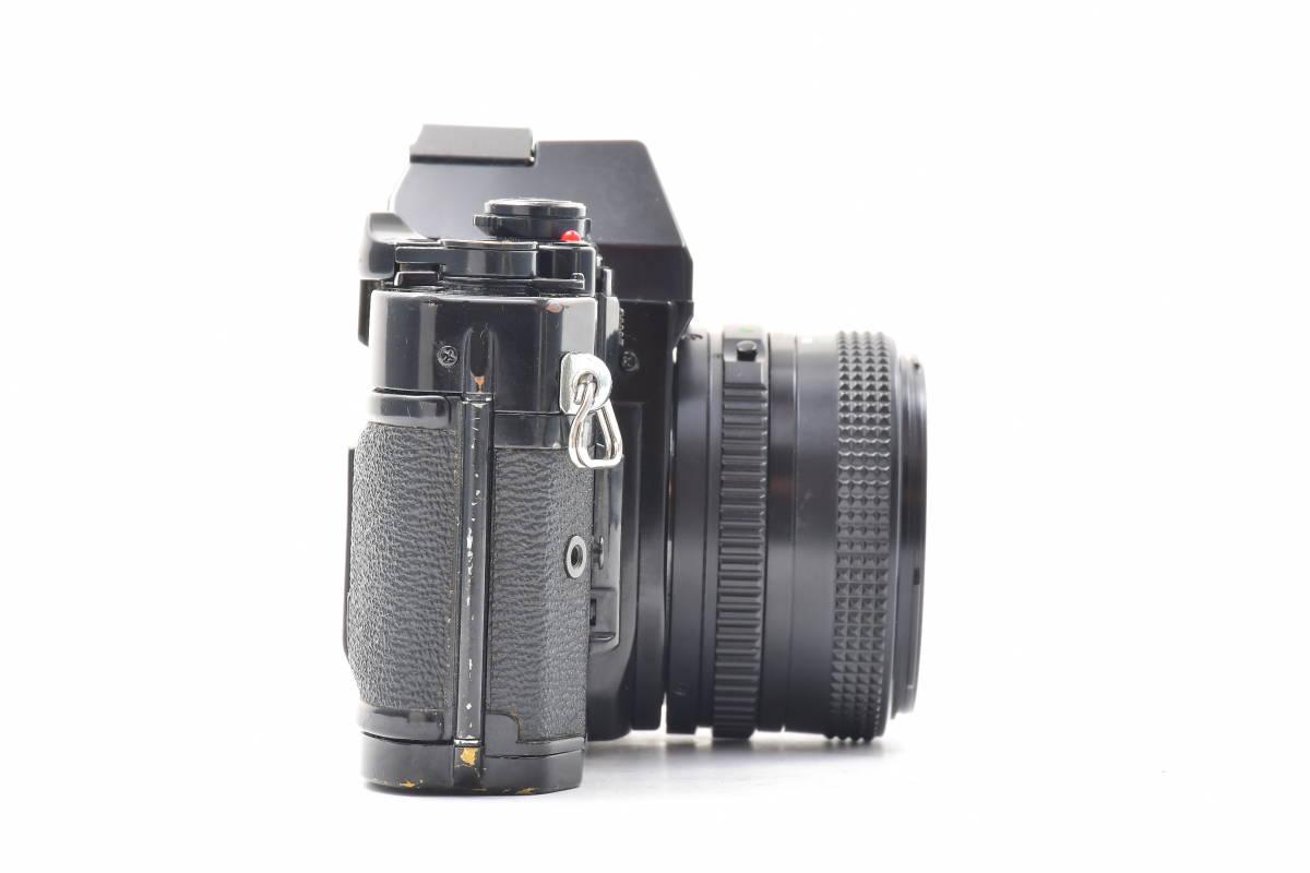 #101 ● Canon キヤノン A-1 + New FD 50mm F2 MF一眼レフ フイルムカメラ_画像6