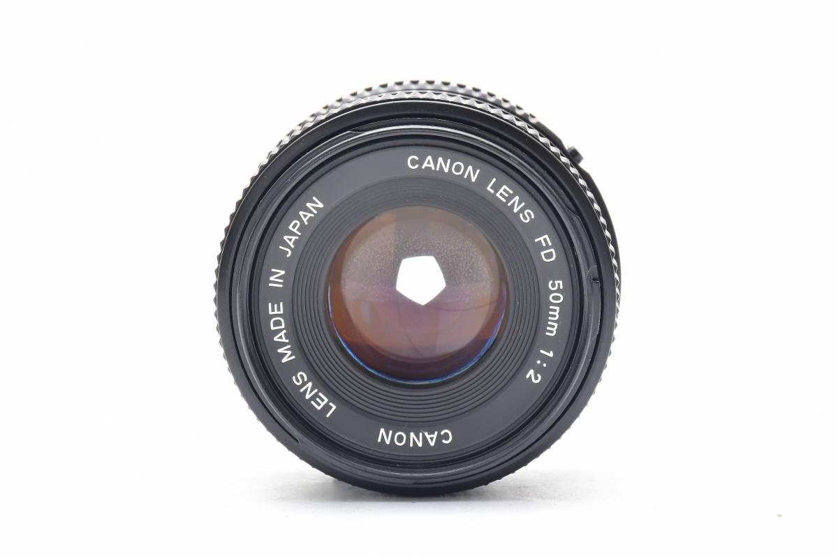 #101 ● Canon キヤノン A-1 + New FD 50mm F2 MF一眼レフ フイルムカメラ_画像8