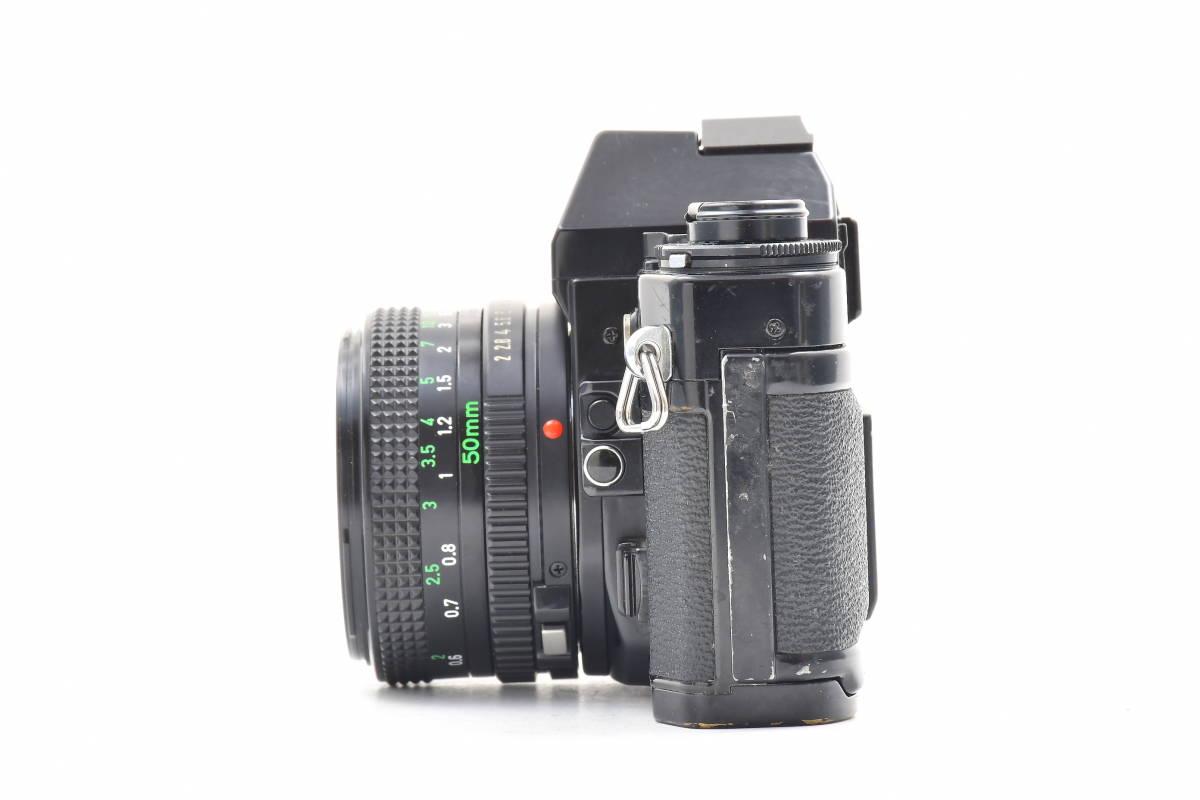 #101 ● Canon キヤノン A-1 + New FD 50mm F2 MF一眼レフ フイルムカメラ_画像5
