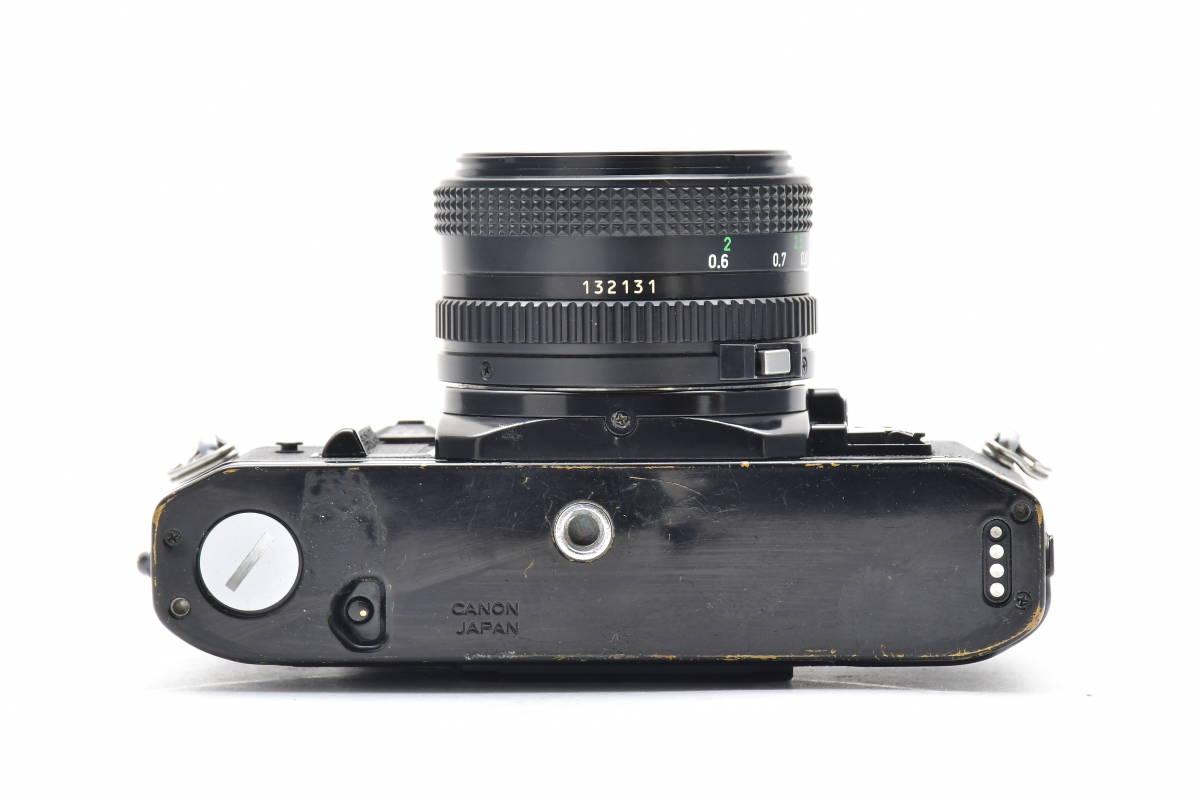 #101 ● Canon キヤノン A-1 + New FD 50mm F2 MF一眼レフ フイルムカメラ_画像4