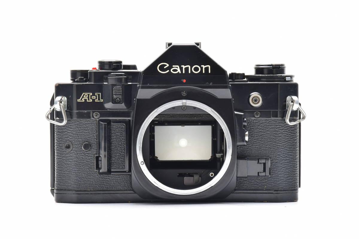 #101 ● Canon キヤノン A-1 + New FD 50mm F2 MF一眼レフ フイルムカメラ_画像7
