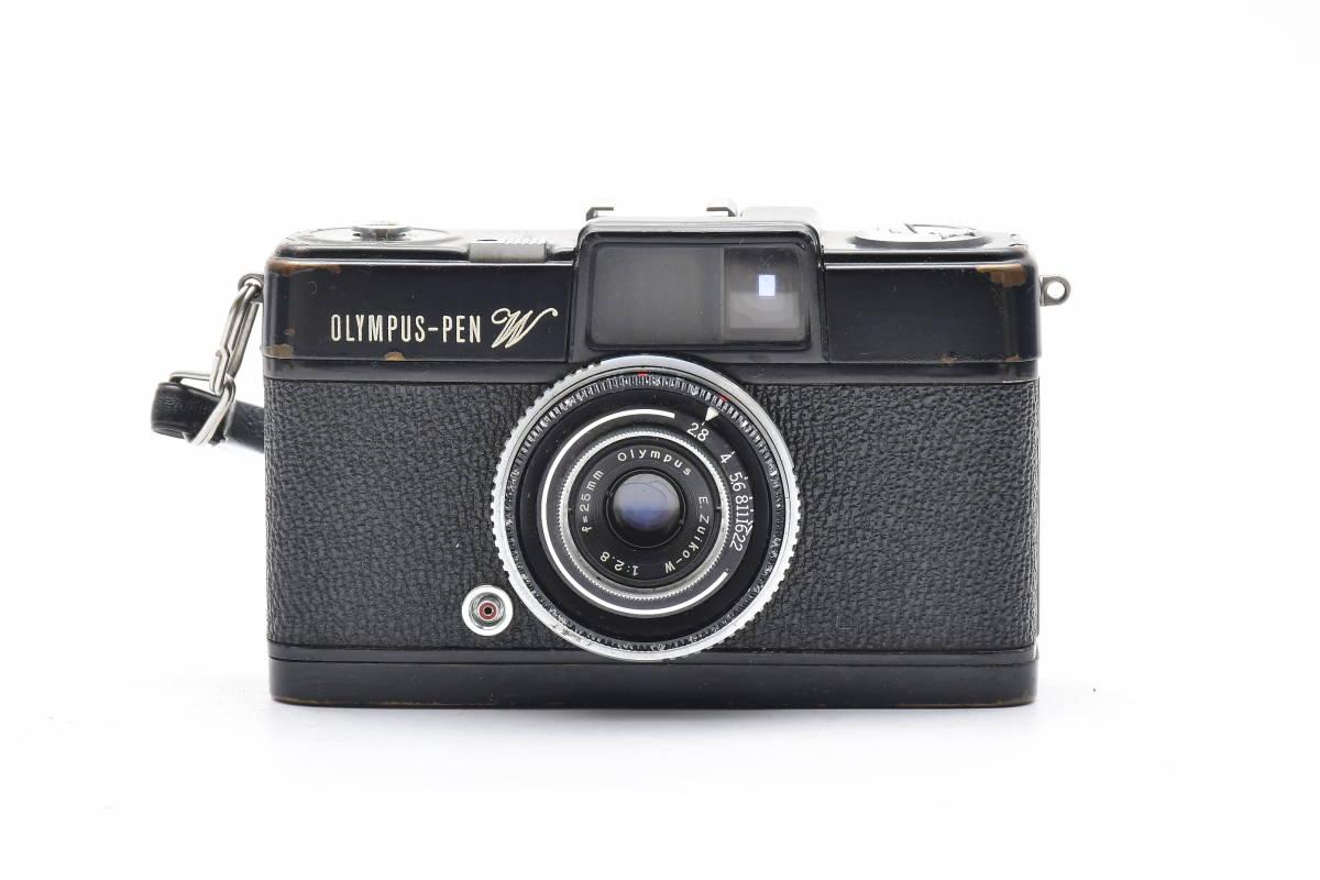 2AM269 ◆ OLYMPUS オリンパス OLYMPUS-PEN W E.Zuiko-W 25mm F2.8 単焦点 広角 コンパク