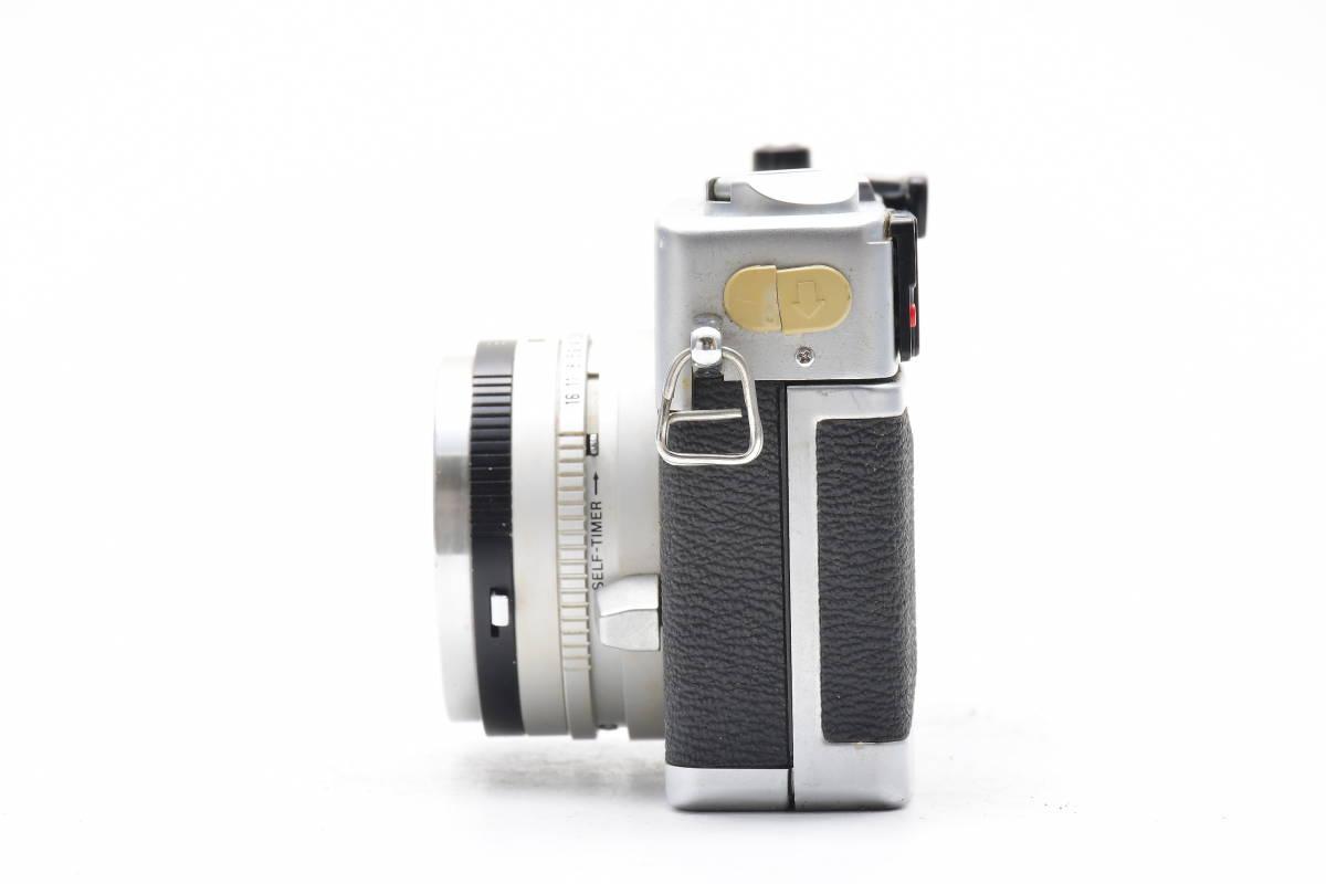 2AM306 ◆ Canon キヤノン Canonet QL17 G-III CANON LENS 40mm F1.7 単焦点 大口径 レンジファインダー_画像5