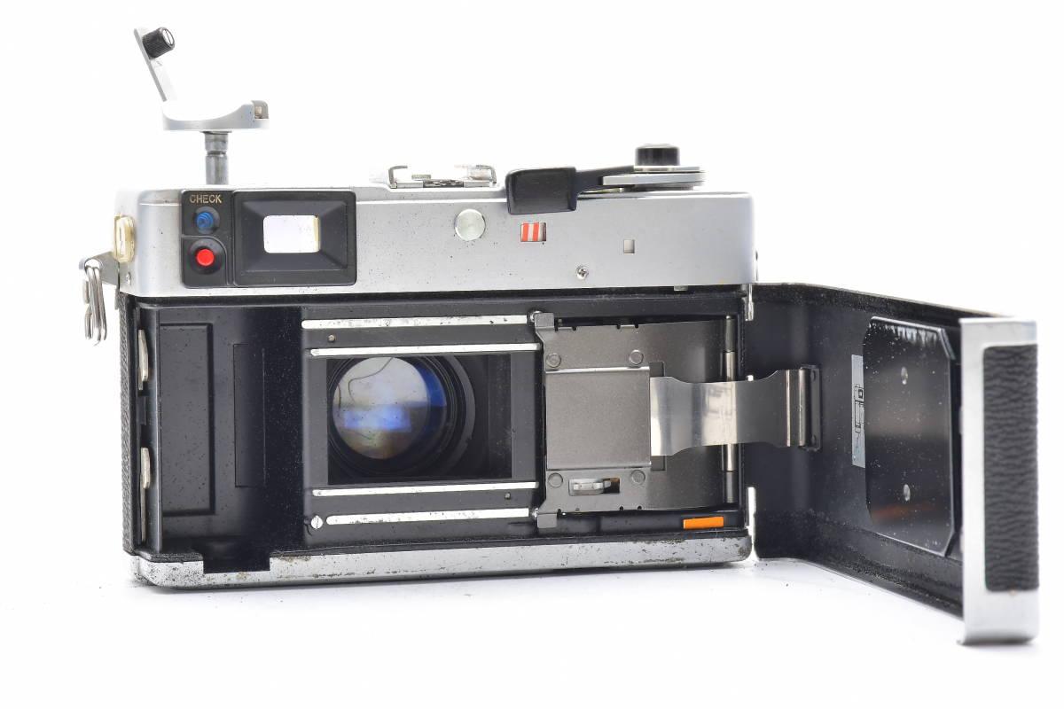 2AM306 ◆ Canon キヤノン Canonet QL17 G-III CANON LENS 40mm F1.7 単焦点 大口径 レンジファインダー_画像7