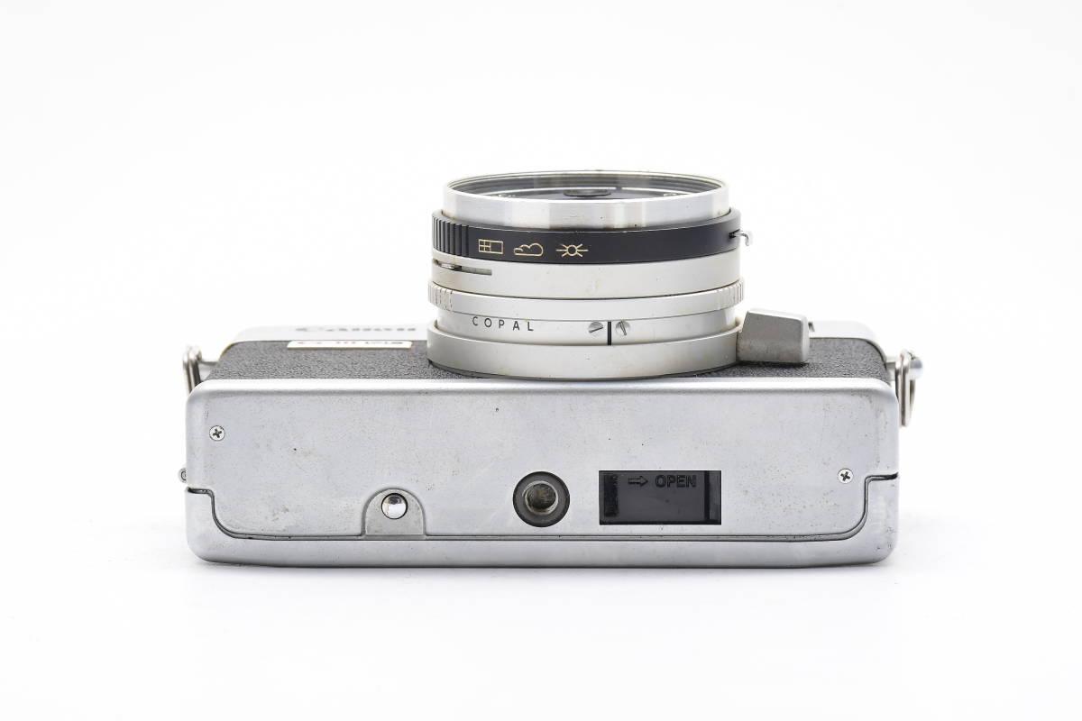 2AM306 ◆ Canon キヤノン Canonet QL17 G-III CANON LENS 40mm F1.7 単焦点 大口径 レンジファインダー_画像4