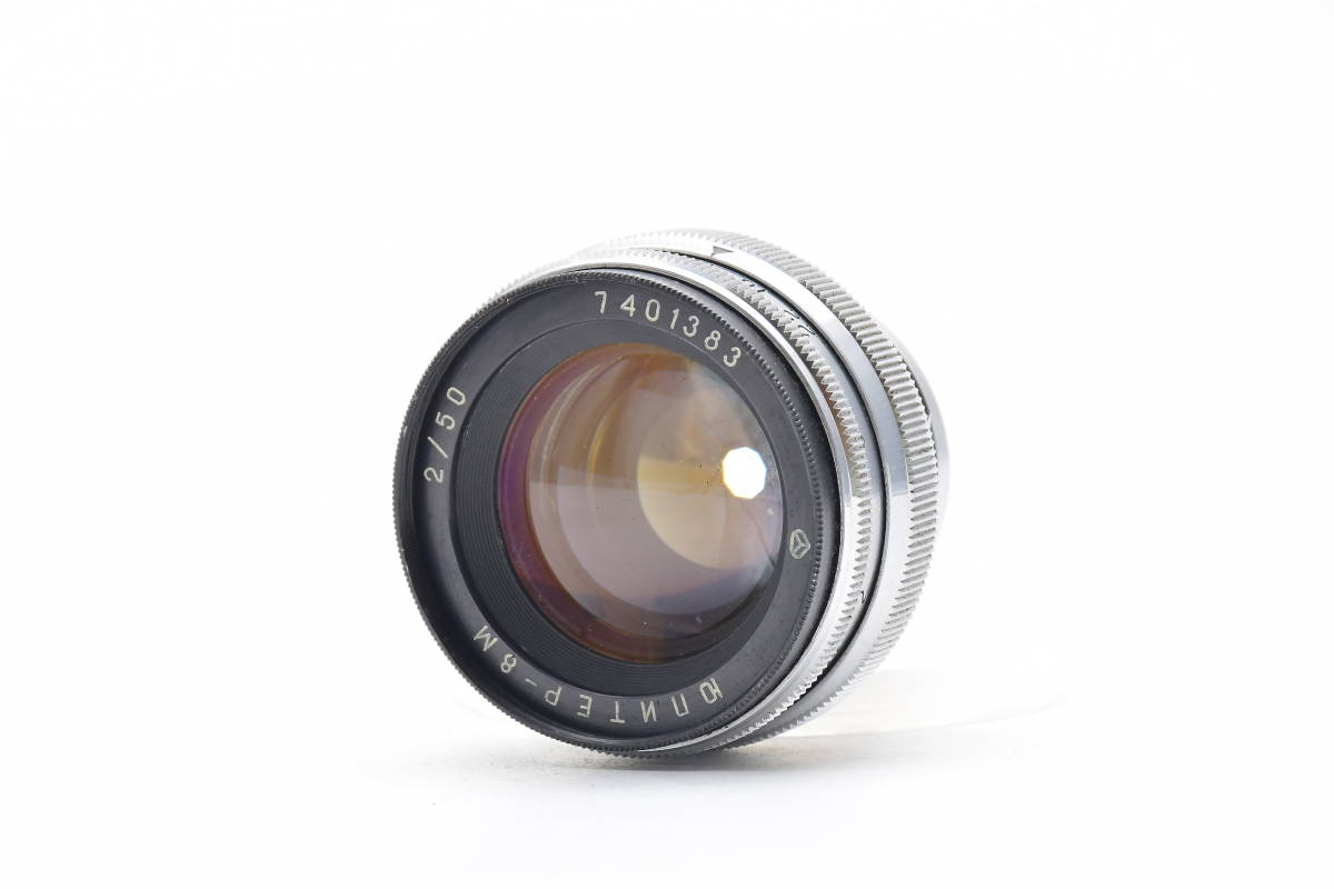 2AM312 ◆ Jupiter-8M ジュピター 50mm F2 単焦点 標準レンズ レンジファインダー用