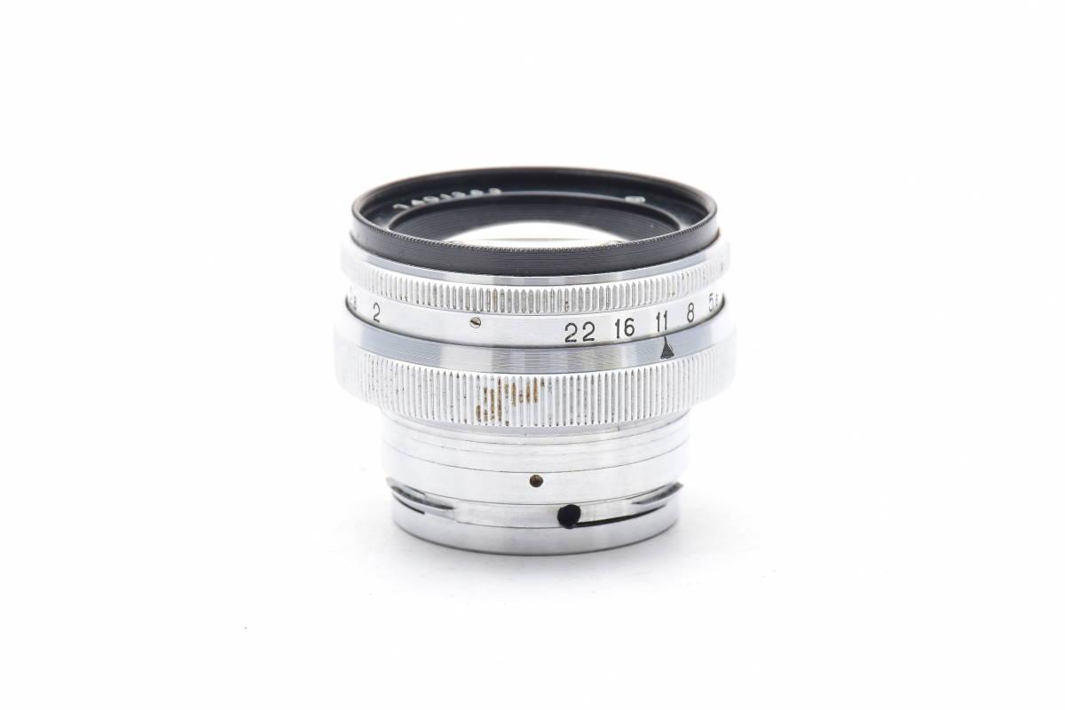2AM312 ◆ Jupiter-8M ジュピター 50mm F2 単焦点 標準レンズ レンジファインダー用_画像3