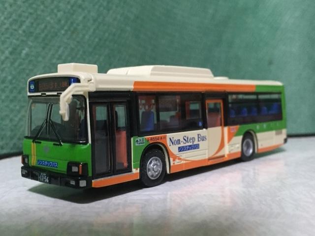 1/80 京商 ダイキャストバスシリ-ズ 都営バス 日野ブル-リボンⅡ 1/76 エムテック シルバニア・ラッピング バス 都営バス 2台セット_画像7