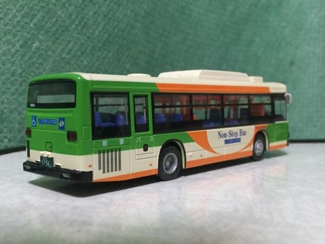 1/80 京商 ダイキャストバスシリ-ズ 都営バス 日野ブル-リボンⅡ 1/76 エムテック シルバニア・ラッピング バス 都営バス 2台セット_画像8