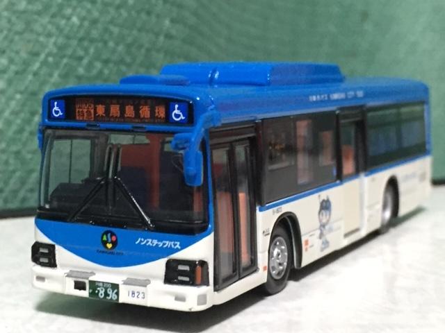 1/80 京商 ダイキャストバスシリ-ズ 川崎市バス いすゞエルガ 1/76 エムテック シルバニア・ラッピング バス 都営バス 2台セット_画像2