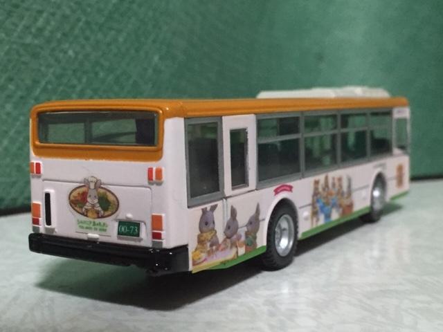 1/80 京商 ダイキャストバスシリ-ズ 川崎市バス いすゞエルガ 1/76 エムテック シルバニア・ラッピング バス 都営バス 2台セット_画像5