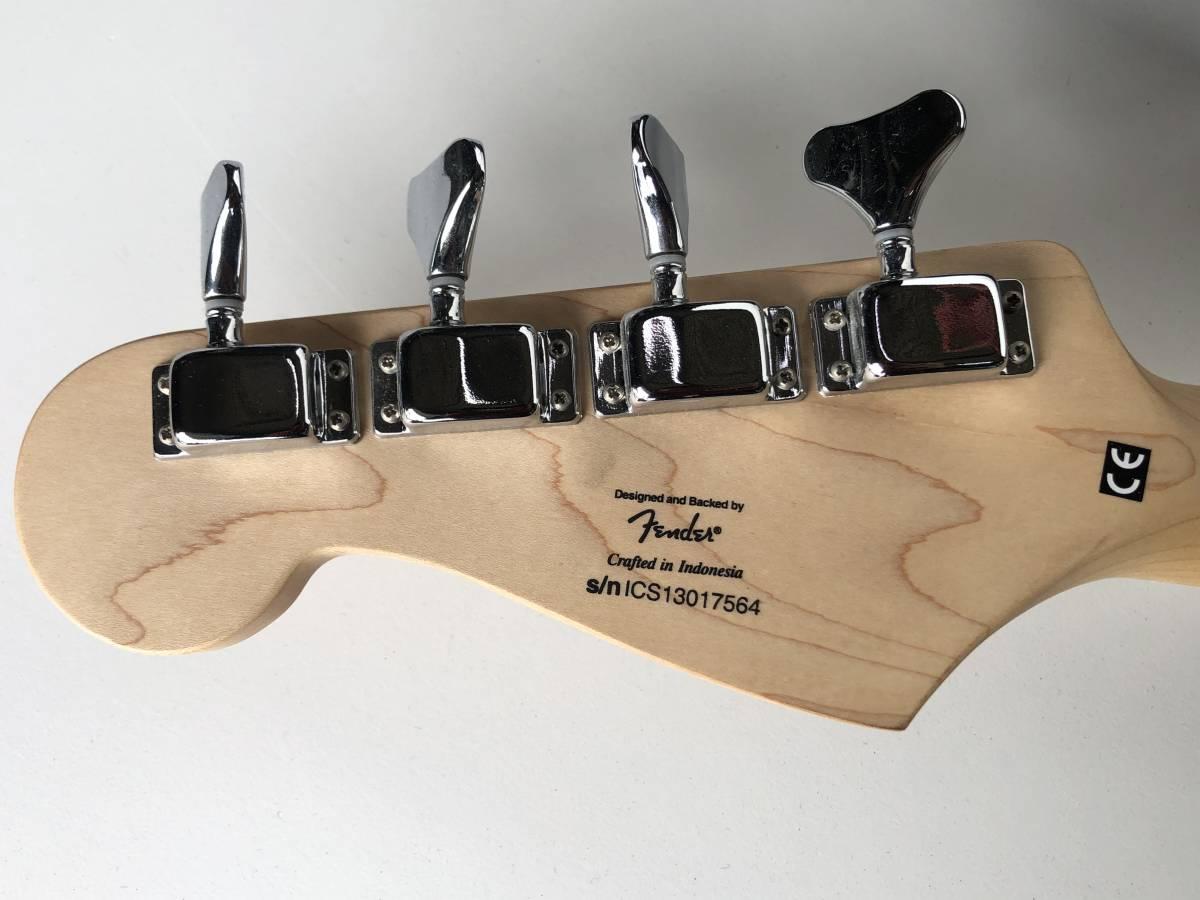 ◆Squier by Fender スクワイア フェンダー◆エレキベース BRONCO BASS ケース付 楽器 音楽機材_画像10