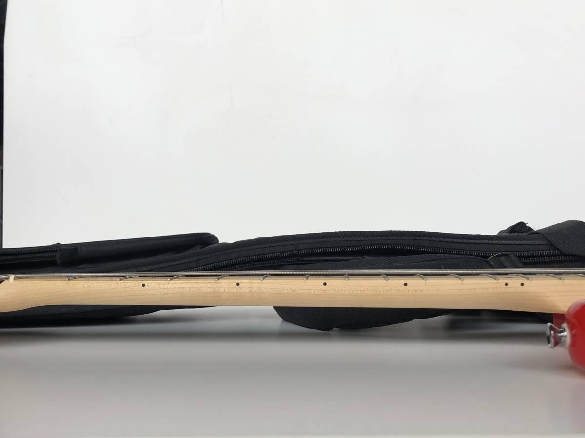 ◆Squier by Fender スクワイア フェンダー◆エレキベース BRONCO BASS ケース付 楽器 音楽機材_画像8
