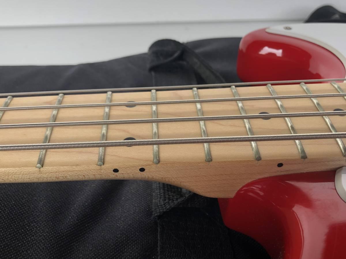 ◆Squier by Fender スクワイア フェンダー◆エレキベース BRONCO BASS ケース付 楽器 音楽機材_画像7