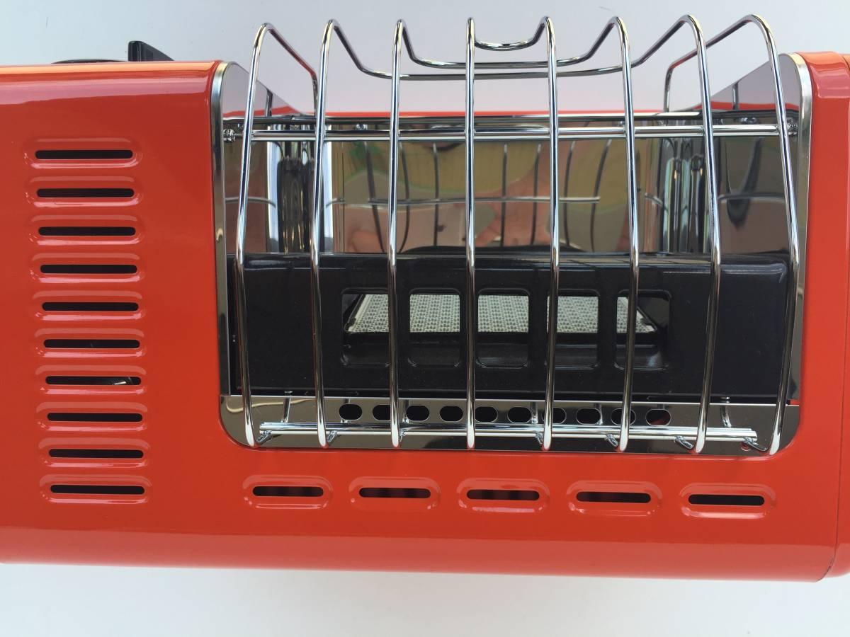①◆リンナイ◆ガスストーブ R-460PⅢ-201 都市ガス用 暖房器具 ヒーター レトロ/アンティーク_画像5