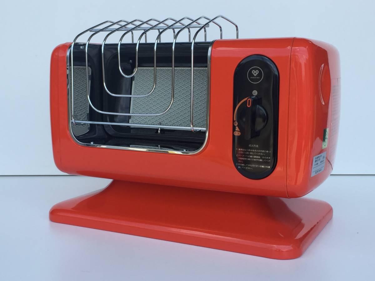 ①◆リンナイ◆ガスストーブ R-460PⅢ-201 都市ガス用 暖房器具 ヒーター レトロ/アンティーク_画像7