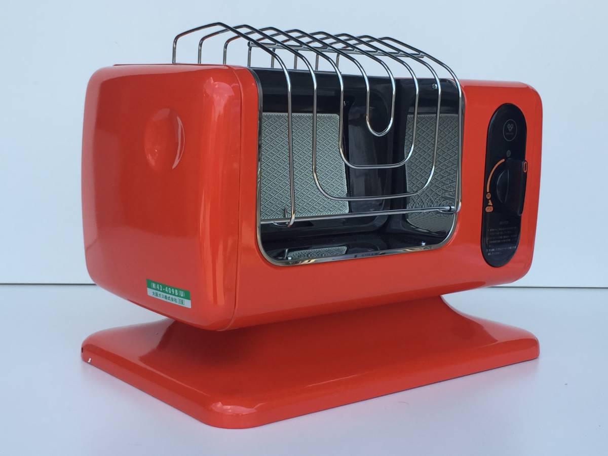 ①◆リンナイ◆ガスストーブ R-460PⅢ-201 都市ガス用 暖房器具 ヒーター レトロ/アンティーク_画像6