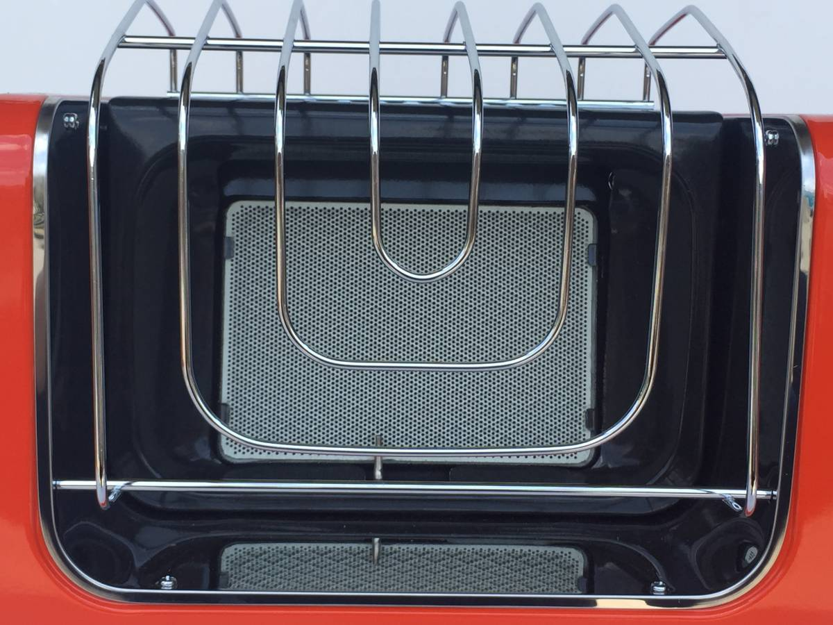①◆リンナイ◆ガスストーブ R-460PⅢ-201 都市ガス用 暖房器具 ヒーター レトロ/アンティーク_画像3