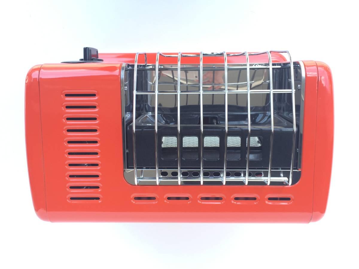 ①◆リンナイ◆ガスストーブ R-460PⅢ-201 都市ガス用 暖房器具 ヒーター レトロ/アンティーク_画像4