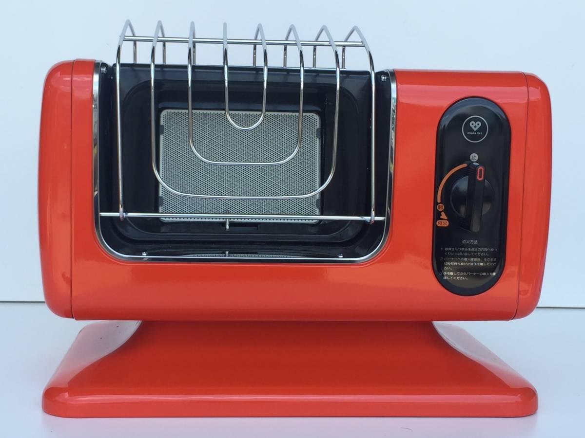 ①◆リンナイ◆ガスストーブ R-460PⅢ-201 都市ガス用 暖房器具 ヒーター レトロ/アンティーク