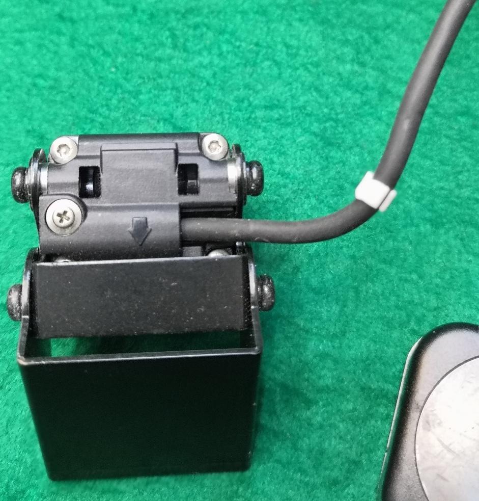 富士通テンOBVIOUSドライブレコーダーG300用増設カメラCMR-3012と赤外線ライト中古送料全国一律普通郵便250円_画像8