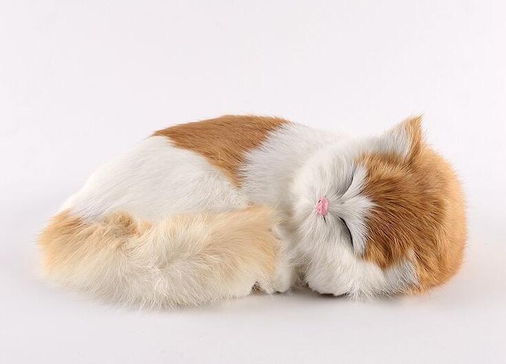 可愛 羊毛フェルト猫 ☆ハンドメイド キジ猫 2