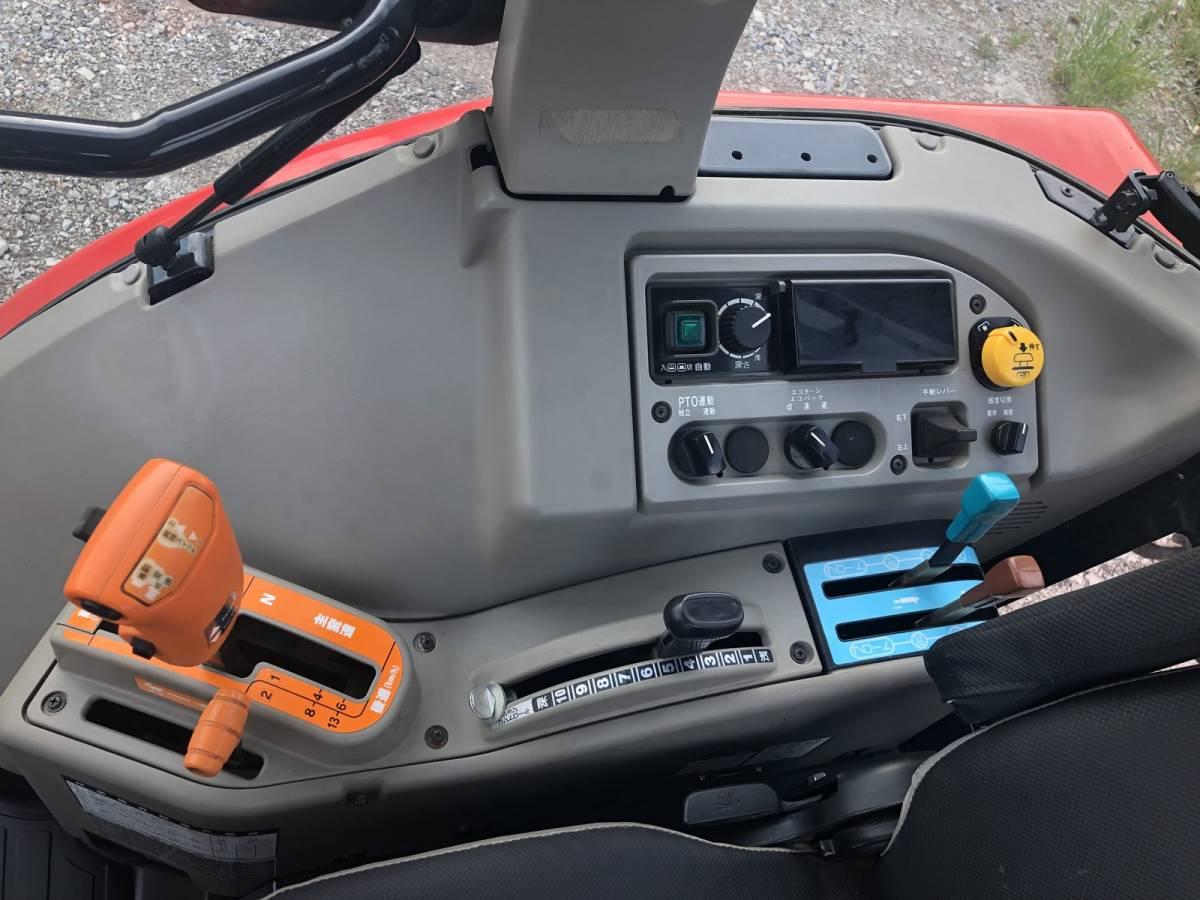 ヤンマー 高年式 エコトラ CT652 オートエアコンキャビン 65馬力 クローラ トラクター 外部油圧取り出し口_画像5