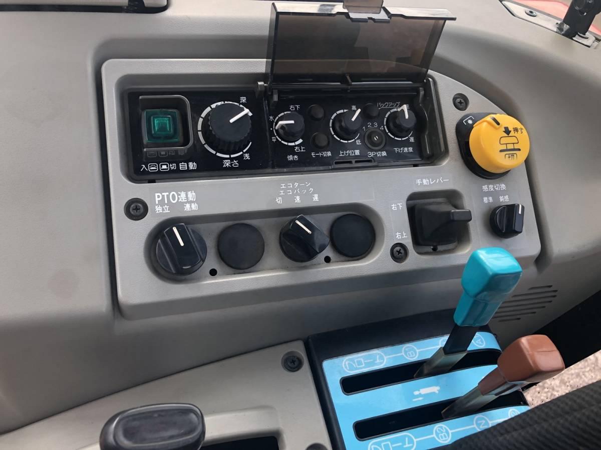 ヤンマー 高年式 エコトラ CT652 オートエアコンキャビン 65馬力 クローラ トラクター 外部油圧取り出し口_画像6