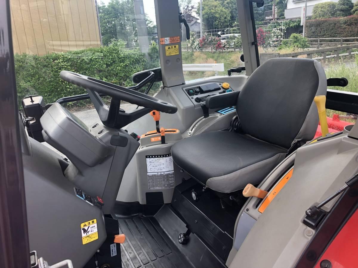 ヤンマー 高年式 エコトラ CT652 オートエアコンキャビン 65馬力 クローラ トラクター 外部油圧取り出し口_画像8