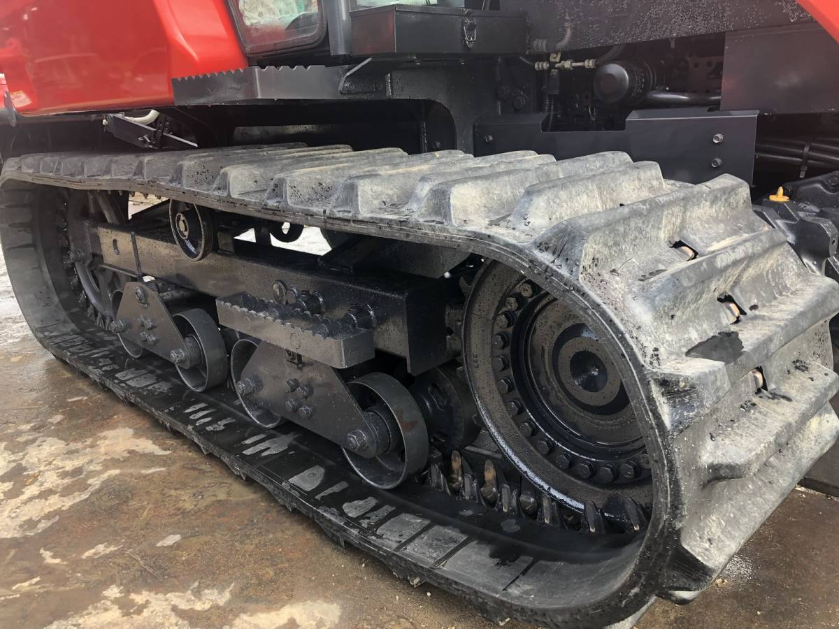 ヤンマー 高年式 エコトラ CT652 オートエアコンキャビン 65馬力 クローラ トラクター 外部油圧取り出し口_画像10