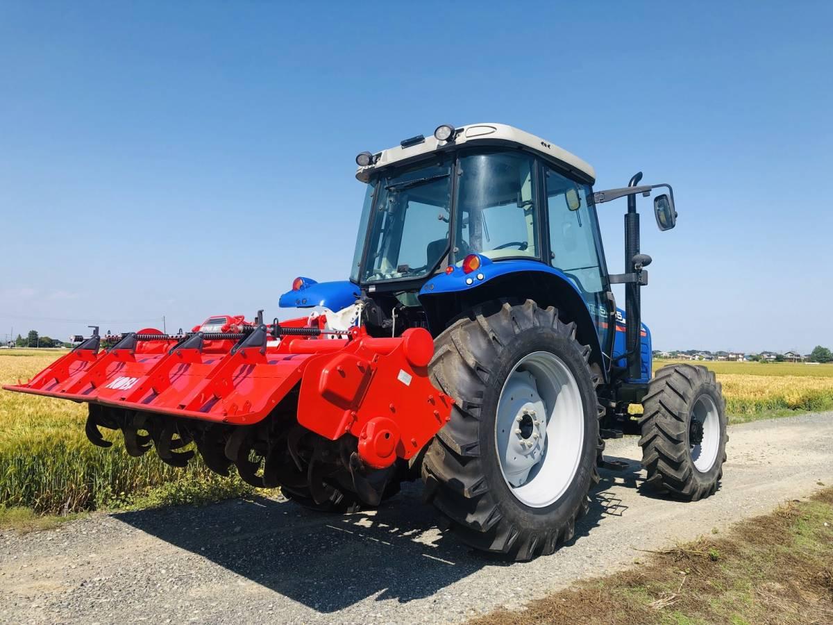イセキ BigT 5085 トラクター 4WD エアコンキャビン 85馬力 新品タイヤ 外部油圧取り出し2系統_画像3