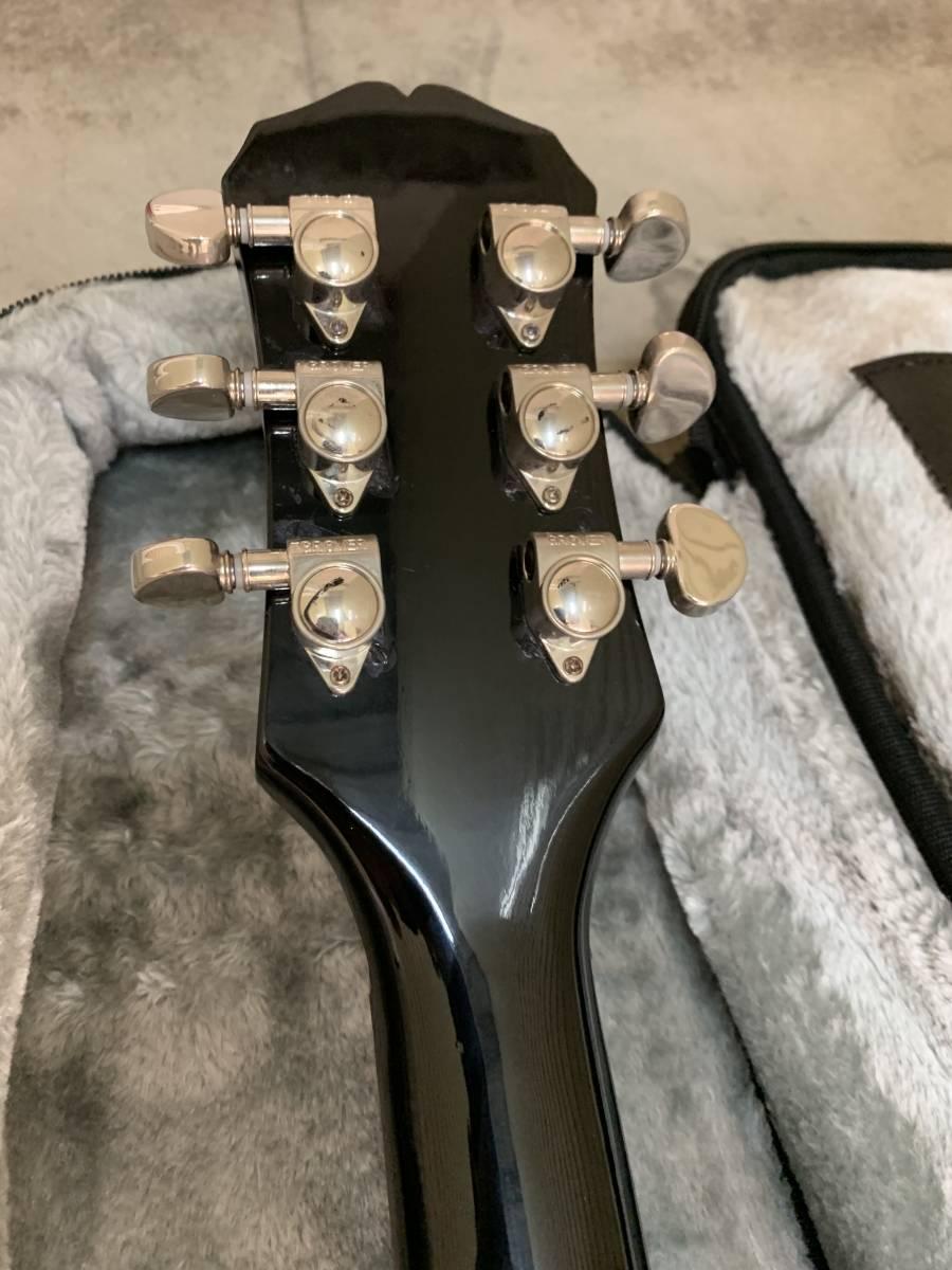 1円スタート) Epiphone Gibson Les Paul EVH風 ヴァンヘイレン風 VAN HALEN風 レスポール Special スペシャル エピフォン ギブゾン 着払い_画像8