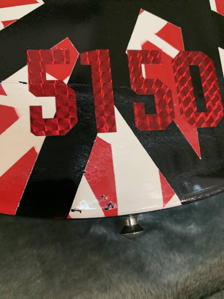 1円スタート) Epiphone Gibson Les Paul EVH風 ヴァンヘイレン風 VAN HALEN風 レスポール Special スペシャル エピフォン ギブゾン 着払い_画像3