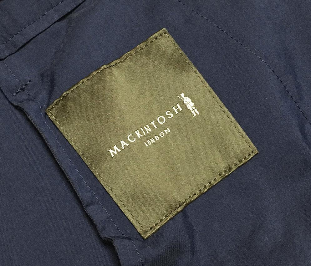 新品 MACKINTOSH LONDON シャンブレー ストレッチ イージー パンツ 40 (80-86) ネイビー マッキントッシュロンドン 軽量で清涼感のある一本_画像7