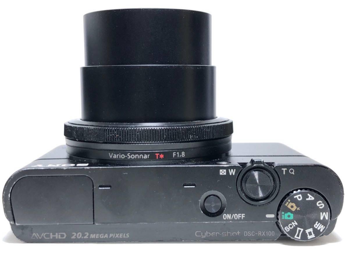 ◆美品◆ソニー SONY Cyber-shot サイバーショット DSC-RX100 コンパクト デジタルカメラ 元箱付き 6ヶ月保証_画像9