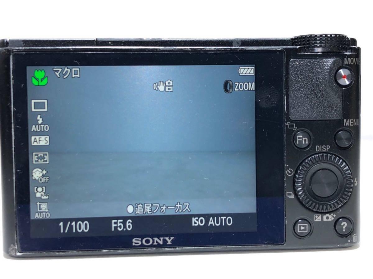 ◆美品◆ソニー SONY Cyber-shot サイバーショット DSC-RX100 コンパクト デジタルカメラ 元箱付き 6ヶ月保証_画像5