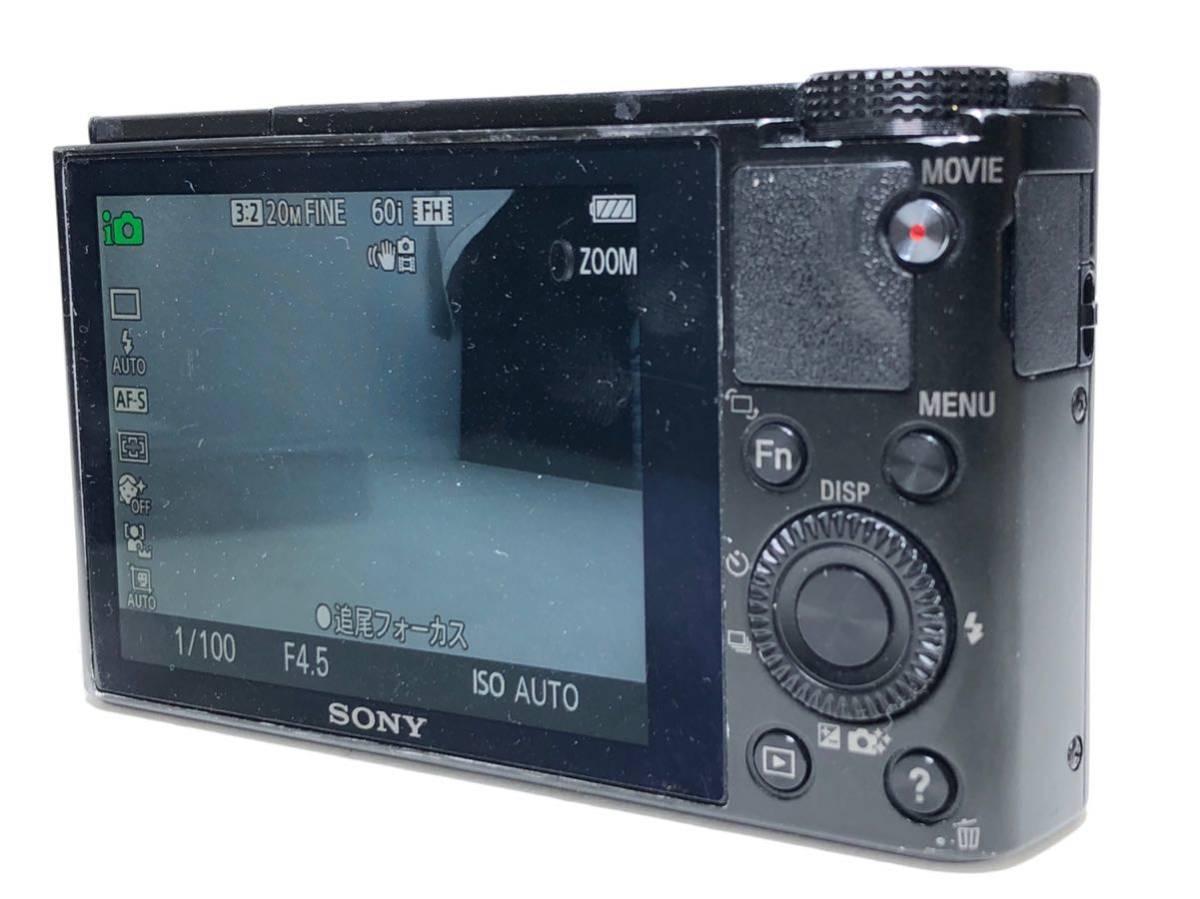 ◆美品◆ソニー SONY Cyber-shot サイバーショット DSC-RX100 コンパクト デジタルカメラ 元箱付き 6ヶ月保証_画像6