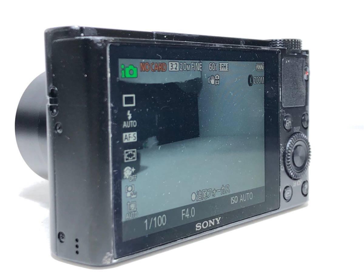 ◆美品◆ソニー SONY Cyber-shot サイバーショット DSC-RX100 コンパクト デジタルカメラ 元箱付き 6ヶ月保証_画像4