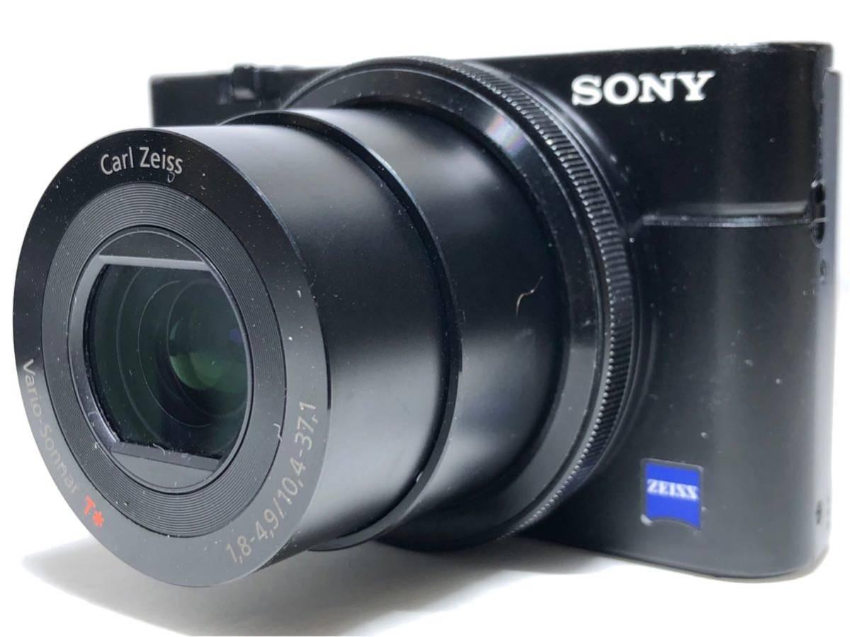 ◆美品◆ソニー SONY Cyber-shot サイバーショット DSC-RX100 コンパクト デジタルカメラ 元箱付き 6ヶ月保証_画像2