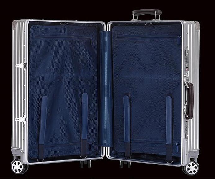 最上級※EU基準※オールアルミマグネシウム合金製・軽量/静音・TSAロック搭載スーツケース・キャリーケース※限定ステッカー5枚付_画像5